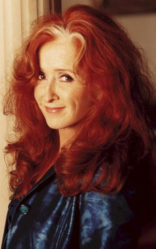 Bonnie Raitt, a redhead with a guitar and a voice of bluesy truth--