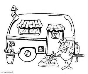 Kamperen met de tent, caravan of camper op de camping - Plaatjes ...