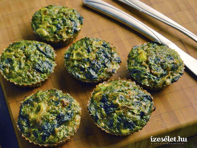Zöldfűszeres tojáslepény – Zöld kükü