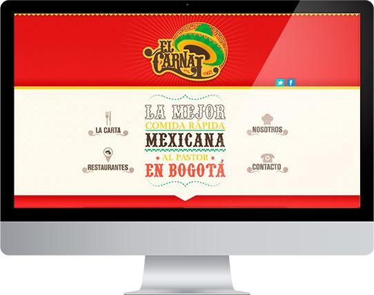 Propuesta Identidad Gráfica / El Carnal by Liliana Ballén, via Behance
