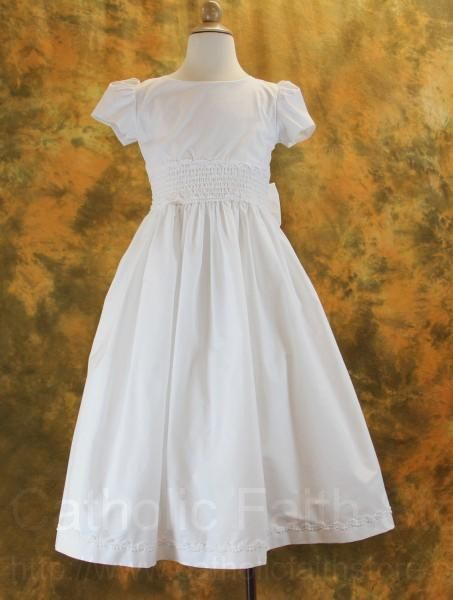 Charming simplicity.  Plus, I have a thing for smocking.