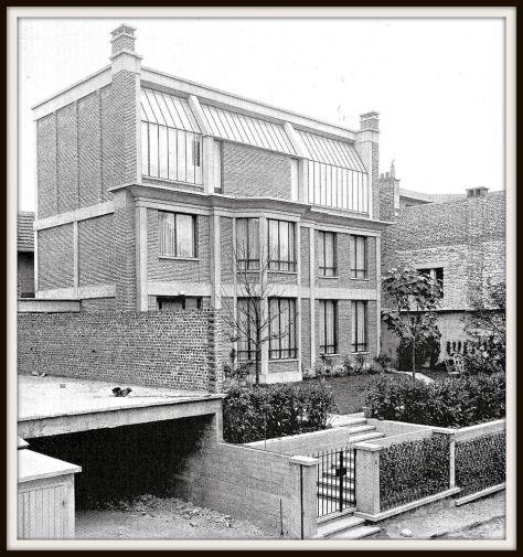 Atelier de Georges Braque (1927) Rue Georges Braque 75014. Architecte : Auguste Perret.