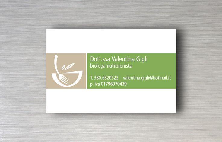 Dott.ssa Valentina Gigli - Logo design e immagine coordinata