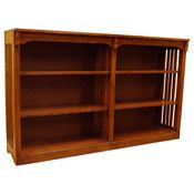 Quality Solid Oak Bookcases