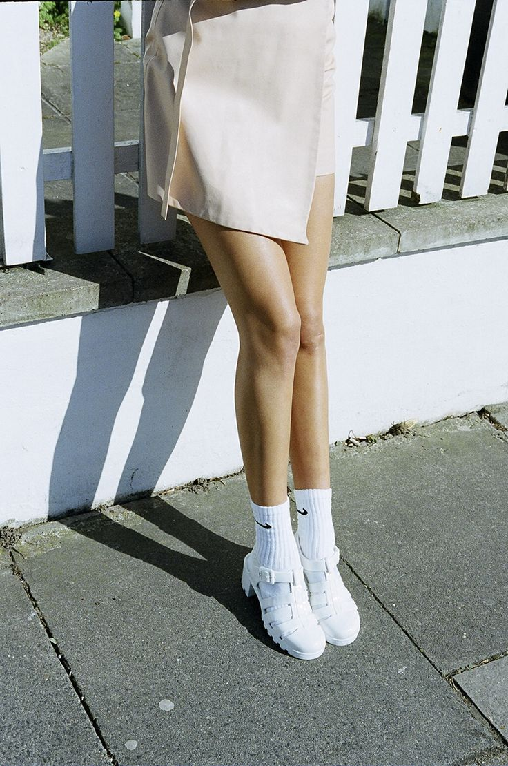 A pair of Nike socks never hurts nobody // Charlie May on Ones to Watch | Girl a la Mode