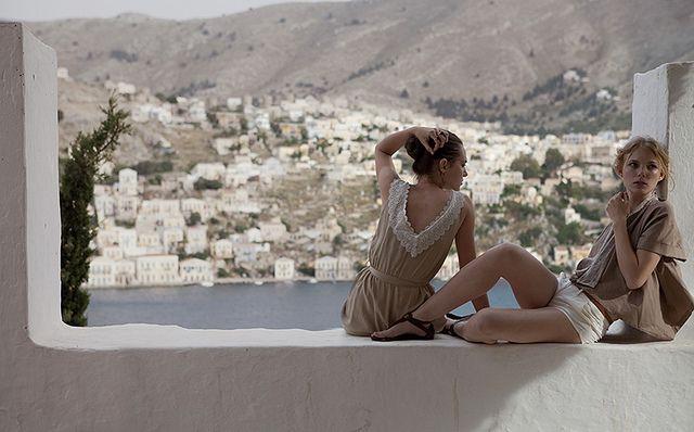marie claire turkey july 2010, shot on the greek island of symi. models: patrisha petrova and isabella strandell, phoographer: cihan alpgiray, stylist: duygu hamdioglu
