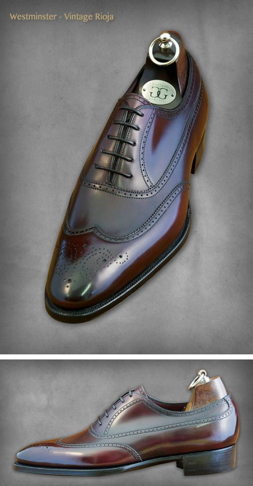 c3c0b2fe83941 Gaziano & Girling / Westminster - Vintage Rioja | Sharp Shoes | Dress shoes,  Shoes, Gentleman shoes