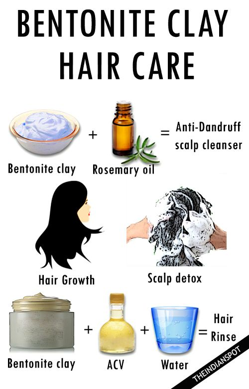 BENEFITS OF BENTONITE CLAY FOR HAIR