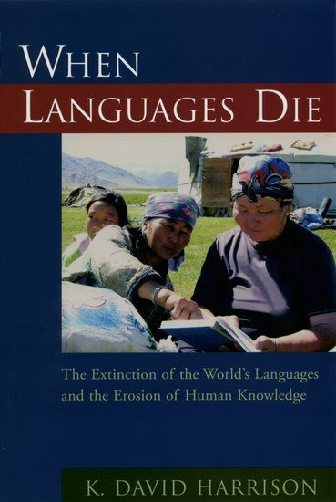 It is commonly agreed by linguists and anthropologists that the majority of languages spoken now around the globe will likely disappear within our lifetime. The phenomenon known as language death has started to accelerate as the world has grown smaller.    This extinction of languages, and the knowledge therein, has no parallel in human history. K.