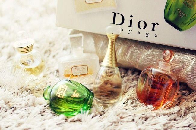 Dior mini perfumes: Travel edition