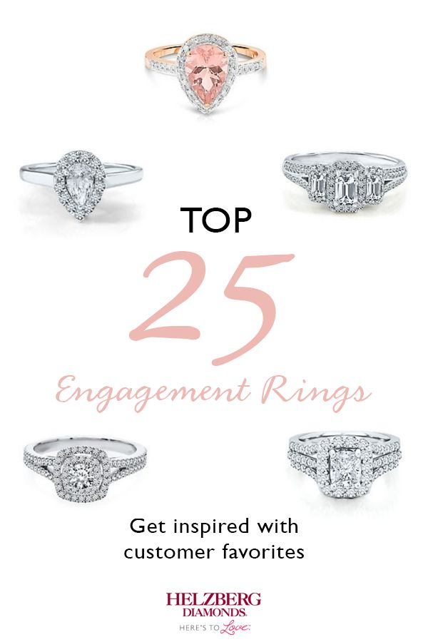 672 best Engagement images on Pinterest Rings Diamond engagement