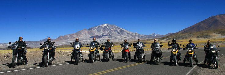 Andean mountains. Paso de Jama, towards Atacama. BMW.