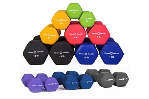 Special Offers - Cheap Fitness Republic Neoprene Dumbbell Pairs (8 Dumbbells Set) 3lb5lb8lb10lb12lb15lb17.5lb20lb - In stock & Free Shipping. You can save more money! Check It (February 12 2017 at 11:01AM) >> https://bestellipticalmachinereview.info/cheap-fitness-republic-neoprene-dumbbell-pairs-8-dumbbells-set-3lb5lb8lb10lb12lb15lb17-5lb20lb/