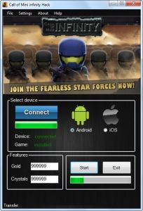 Call of Mini Infinity Hack – Unlimited Crystals and Gold Cheats Engine download for mobile. Download Call of Mini Infinity Hack – Unlimited Crystals and Gold Cheats Engine full version. Call of Mini Infinity Hack – Unlimited Crystals and Gold Cheats Engine for Mac, iOS and Android. Last version of Call of Mini Infinity Hack – Unlimited Crystals and Gold Cheats Engine