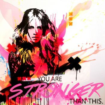 You are stronger than this Artist: Sculley, Sarah Artwork title: I am stronger than this Price: $249 AUD