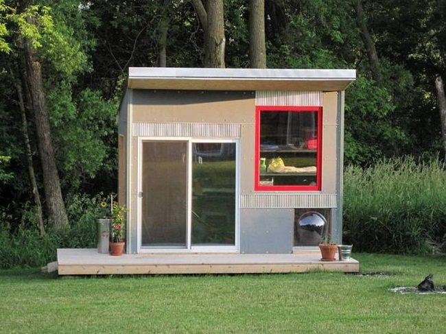 27 best Shed images on Pinterest Backyard studio Modern shed
