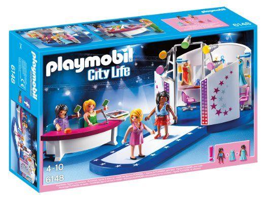 Playmobil 6148 Casting mannequin sur le podium