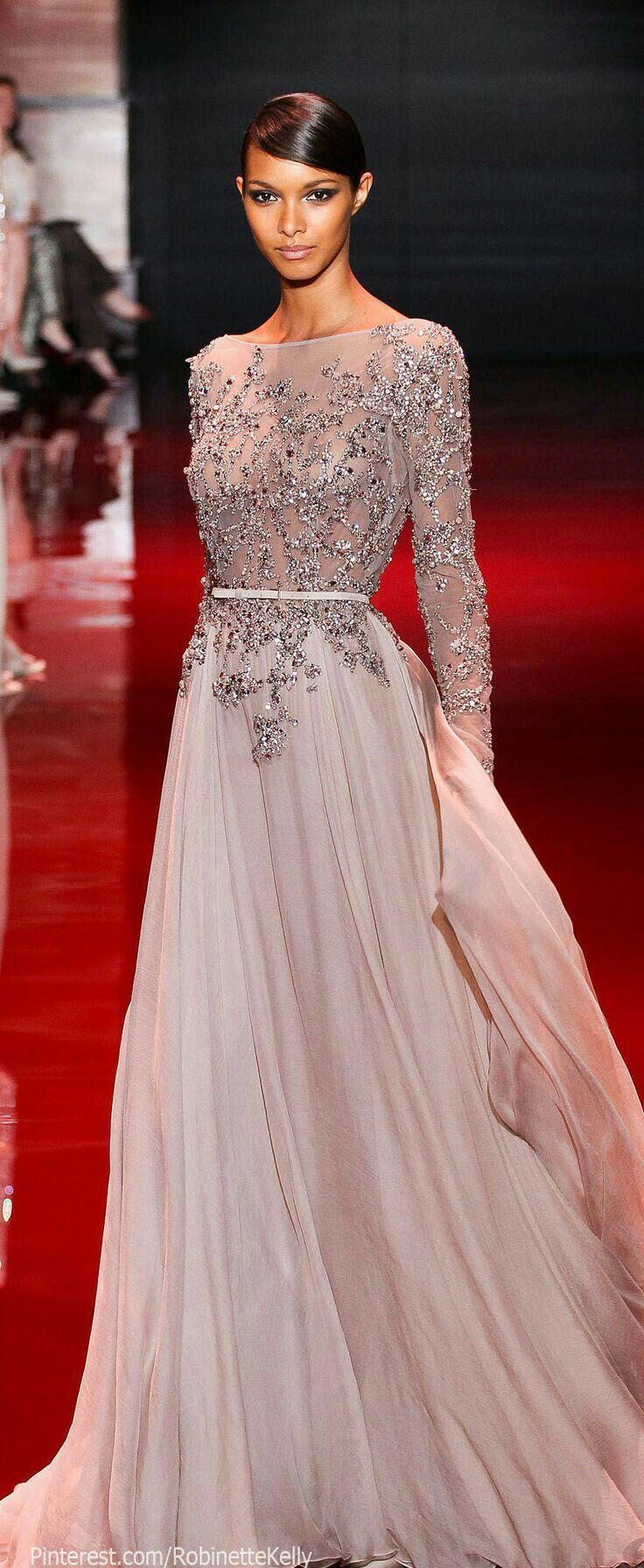 103 besten فساتين Bilder auf Pinterest | Abendkleid, Lange kleider ...