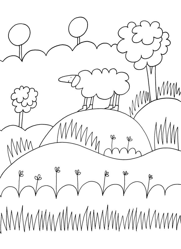 353 fantastiche immagini su disegni su pinterest disegni for Stampe di fattoria gratis