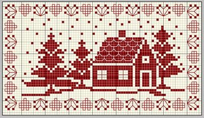 bonne-annee. Free sewing pattern graph for cross stitch or plastic canvas.