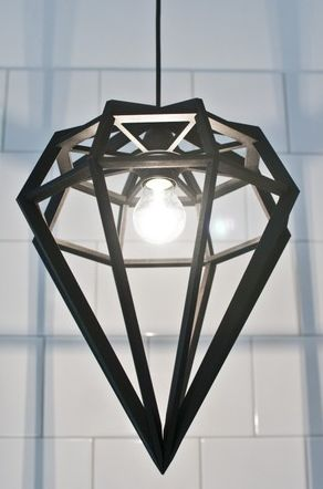 Supernice diamond lamp from Tvåfota design