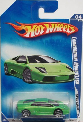 Awesome Lamborghini: Hot Wheels 2009-150 GREEN Lamborghini Murcielago Dream Garage 1:64 Scale...  Products Check more at http://24car.top/2017/2017/07/30/lamborghini-hot-wheels-2009-150-green-lamborghini-murcielago-dream-garage-164-scale-products/
