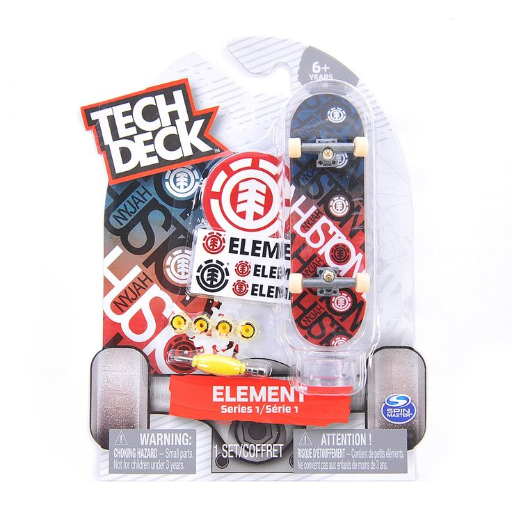 Tech Deck Element Series 1 Rare. Tech Deck brings you the real deal with authentic 96mm fingerboards from real skate companies!