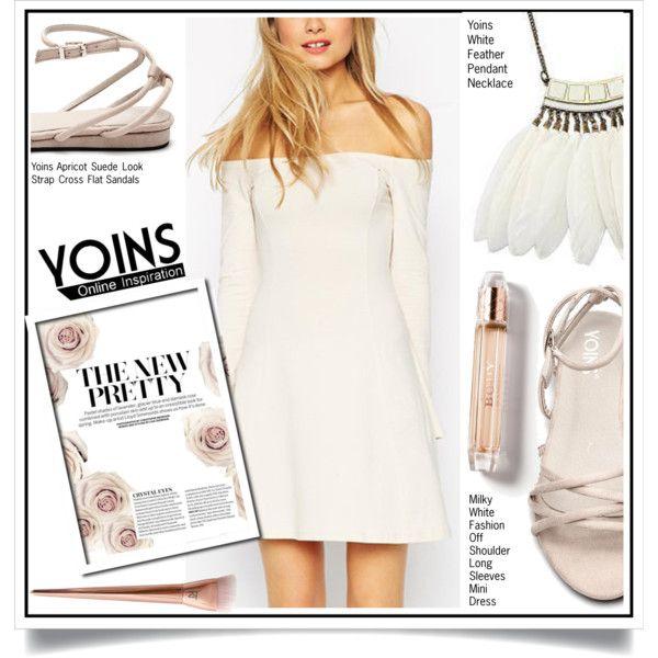Yoins XV/6 by ewa-naukowicz-wojcik on Polyvore featuring moda, Burberry, yoins…