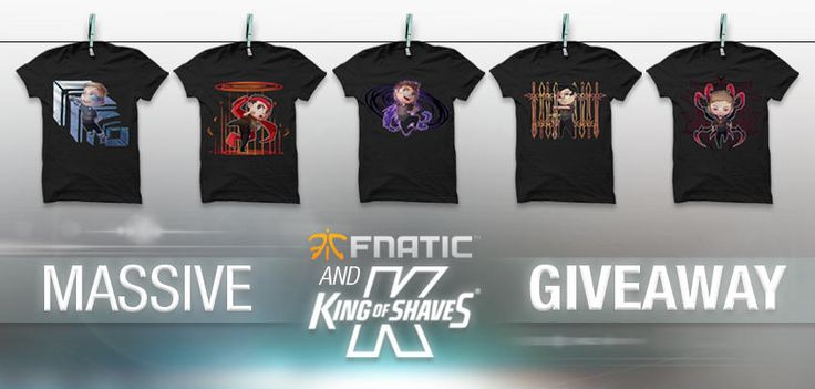 I just entered the FNATIC & King of Shaves MASSIVE giveaway! You can too, it's simple! Follow the link and complete the actions to win some awesome prizes!
