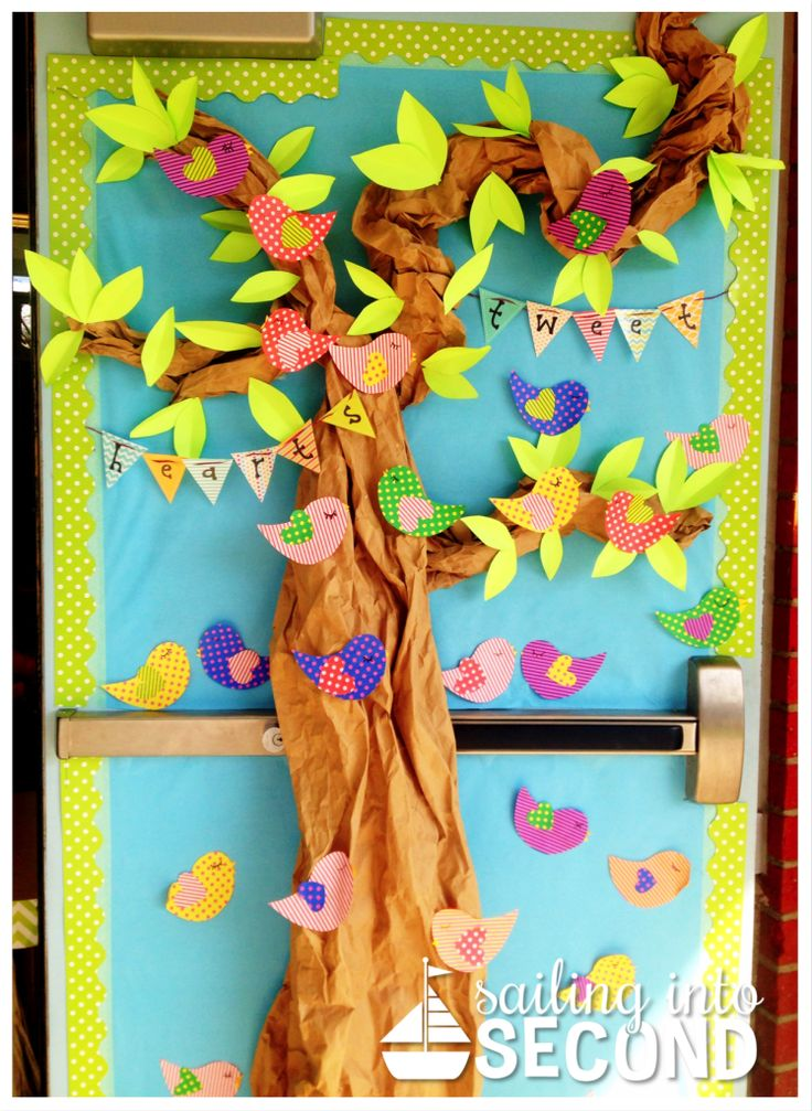 Pretty much the cutest classroom door decoration ever! Perfect for Back to School!