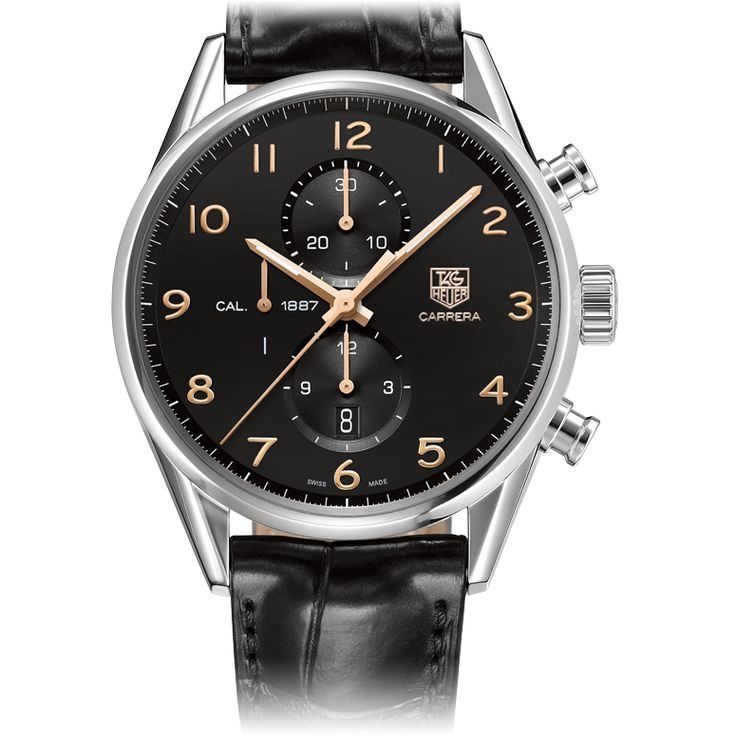 CARRERA  CALIBRE 1887 AUTOMATIC CHRONOGRAPH 43 mm #reloj #watch