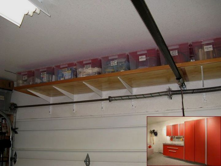 Garage Storage Lockers And Pics Of Garage Organization Home Hardware Garagestorage Gara Garage Ceiling Storage Garage Storage Garage Wall Shelving