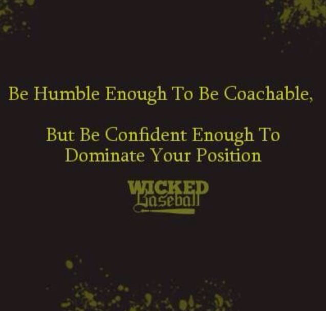 Be coachable! Don't get bitter get better