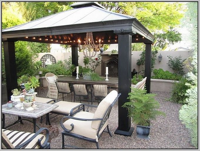how to decorate house with gazebo patio furniture - Gazebo Patio Ideas