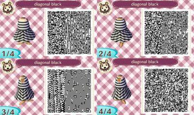 My Original Animal Crossing QR codes