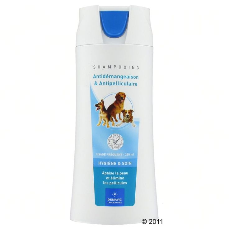 Animalerie  Shampooing anti-démangeaison Demavic pour chien  2 x 250 mL