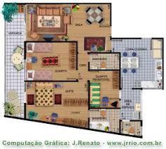 Image result for rendered floor plans