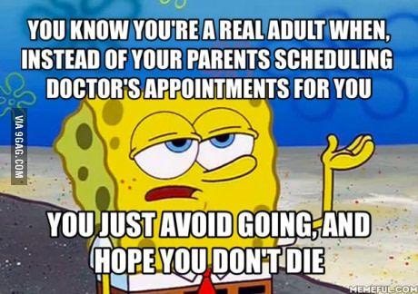 True mark of adulthood