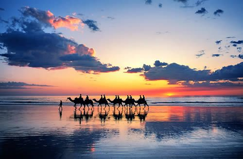 Camel ride in Broome!