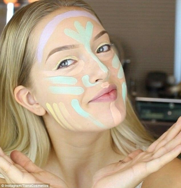 Contouring very pale skin