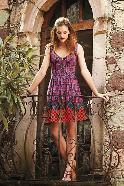Amapola Dress #anthropologie