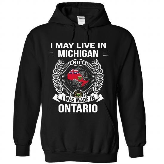 ONTARIO - MICHIGAN - #checked shirt #boho tee. THE BEST => https://www.sunfrog.com/No-Category/ONTARIO--MICHIGAN-3474-Black-Hoodie.html?68278