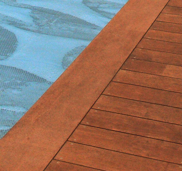 Les 25 meilleures id es de la cat gorie margelle piscine bois sur pinterest - Piscine sans margelle ...