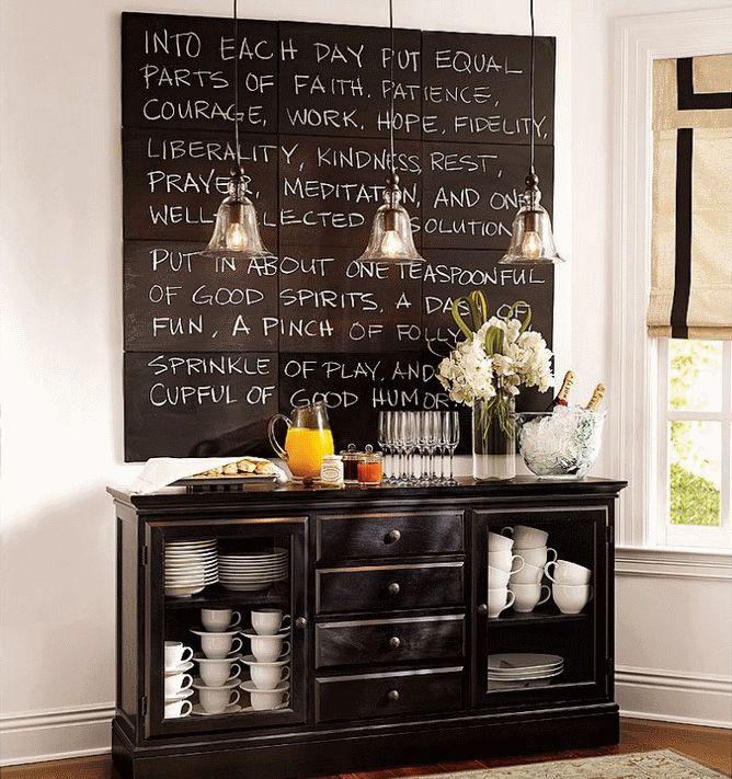 chalkboard home decor - Chalkboard Decor