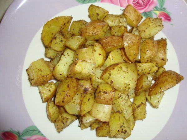 Bucataria cu noroc - Cartofi la cuptor