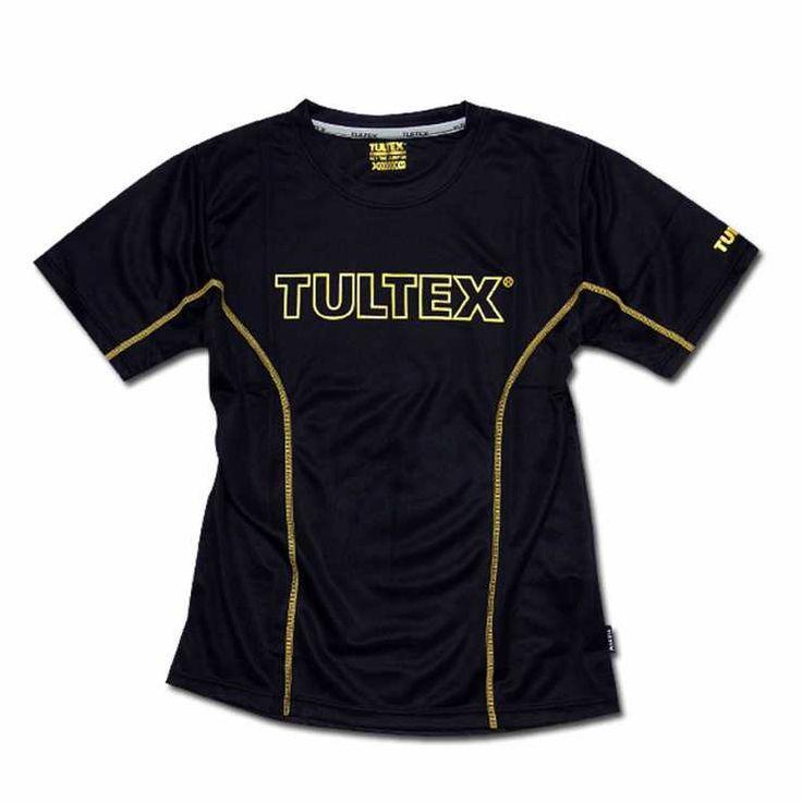 TULTEX タルテックス ゆったりフィット コンプレッション インナー 半袖 Tシャツ エアリークール 吸汗速乾 スポーツウェアジムウェア ランニング ウォーキング ウェア