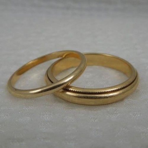 Gold Wedding Bands | The Big Fat Jewish Wedding