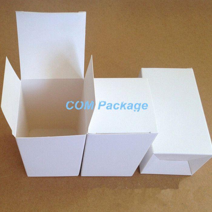 8*8*10 см Белая Бумага Картонная Коробка Косметический Уход За Кожей Бутылка Партии Упаковочная Коробка Подарочная Упаковка Коробки Для ювелирные изделия Конфеты Духи Чай