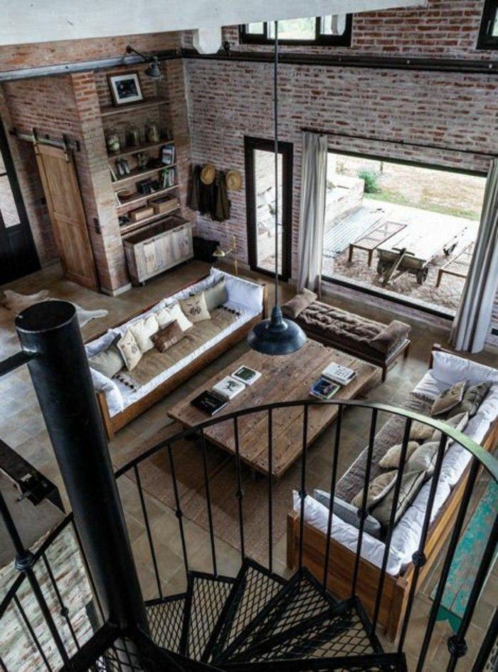 les 25 meilleures id es de la cat gorie meuble industriel pas cher sur pinterest id e d co. Black Bedroom Furniture Sets. Home Design Ideas