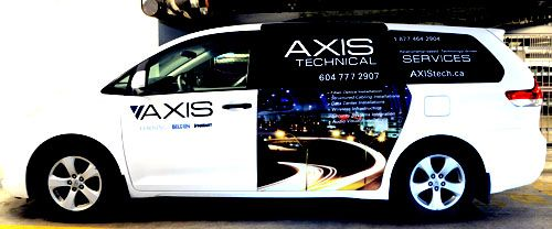 AxisTech Van - Side 2